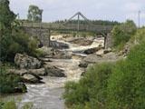 Nautelankosken silta alajuoksulta